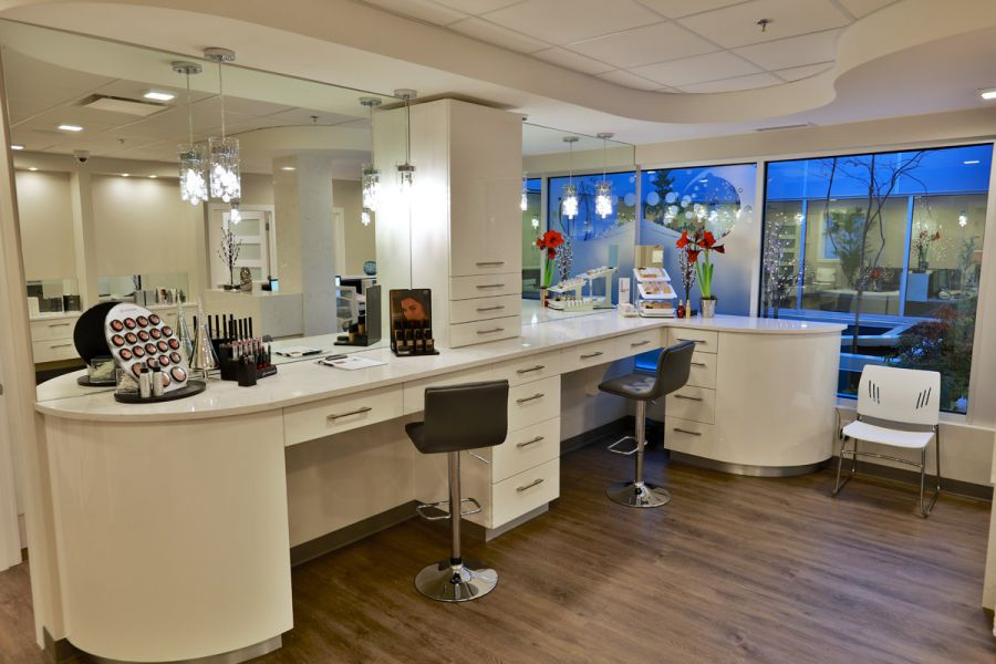 <who>Photo Credit: KelownaNow</who> Restore Vein and Skin Centre also offers skin care products and cosmetics from trusted brands like glo Minerals Makeup and Jane Iredale Mineral Makeup.