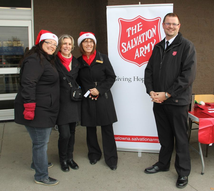 Salvation Army Red Kettle Campaign Kickoff