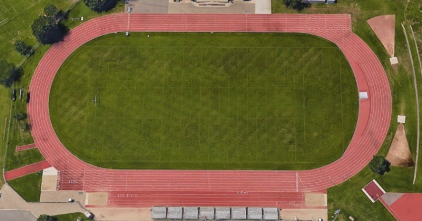 <who>Photo Credit: Google Earth</who> The Apple Bowl Kelowna