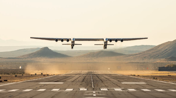 <who> Photo credit: Stratolaunch