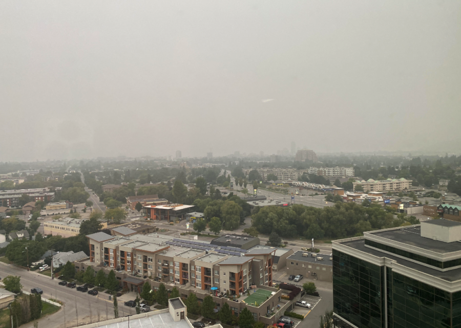US  wildfire smoke clings to B.C., wafts east to Alberta