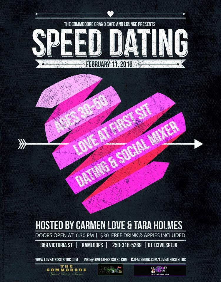 Kelowna speed dating