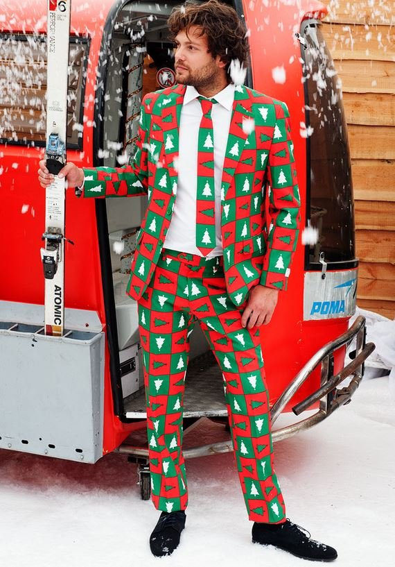 Calling All Dapper Men, The Ugly Christmas Suit is Here