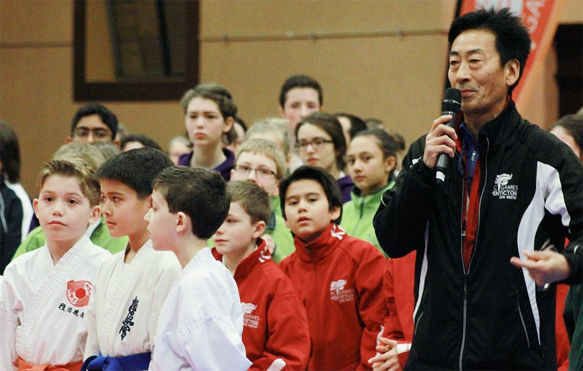 <who>Photo Credit: Contributed </who>Chris Taneda of West Kelowna is back as the head coach of the Zone 2 (Thompson-Okanagan) karate team.