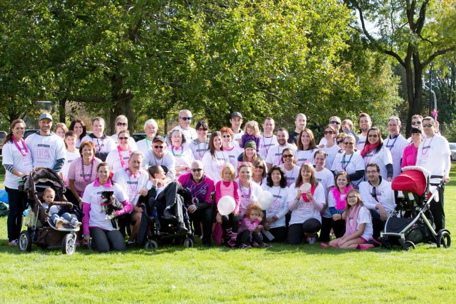 <who>Photo credit: CIBC Run for the Cure</who>Teece's Troopers