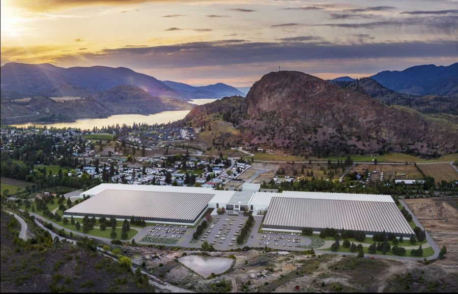 Incomplete 114-acre cannabis greenhouse facility in South Okanagan sold for $20M