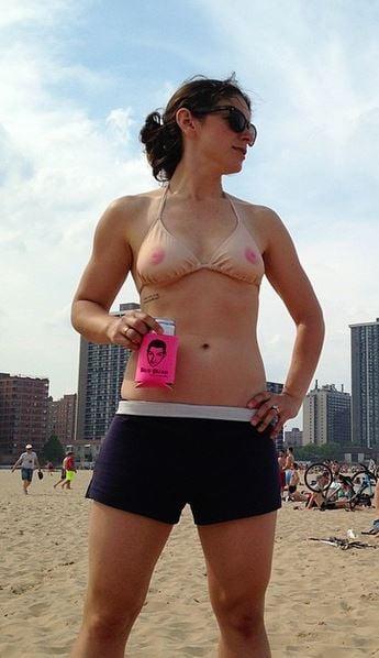 Bathing Suit Nipples 119
