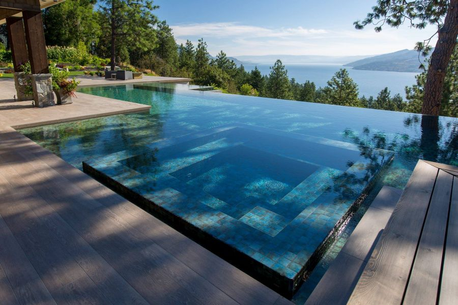The coolest pools in the okanagan for Pool design kelowna