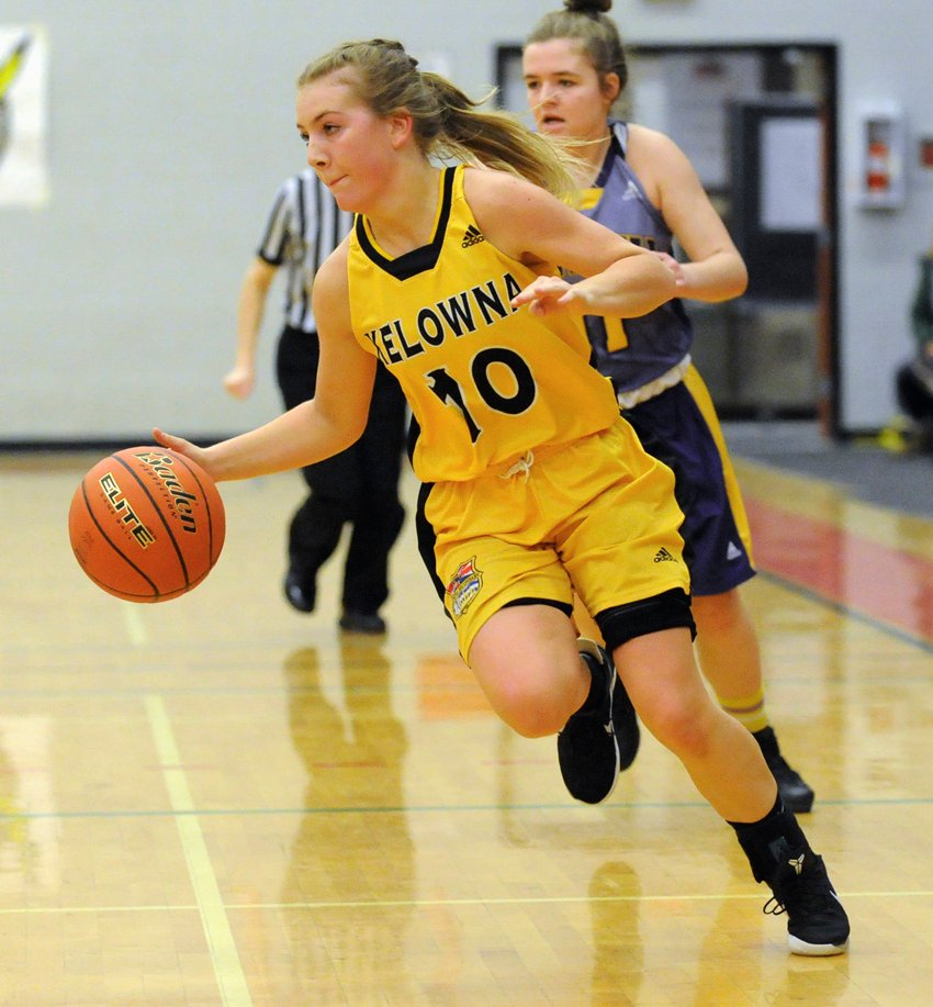 <who>Photo Credit: Lorne White/KelownaNow </who>Dez Day of the Owls played her final high school game in the Okanagan and was named to the Valley's first all-star team.
