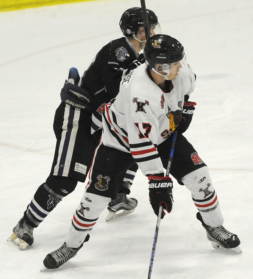 <who>Photo Credit: Lorne White/KelownaNow </who> Aidan Bar-Lev-Wise opened the scoring for the Chiefs in their fourth straight win against North Okanagan.