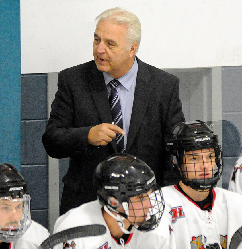 <who>Photo Credit: Lorne White/KelownaNow </who>New head coach and assistant GM, Ken Law, confident the Kelowna Chiefs can contend for a KIJHL title.