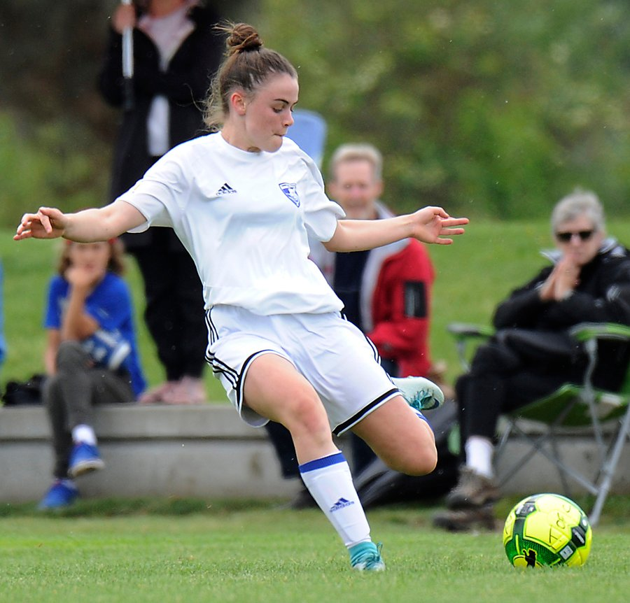 <who>Photo Credit: Lorne White/KelownaNow </who>Only 14, Ella Krete, is one of three TOFC grads on the Whitecaps FC U16 team.