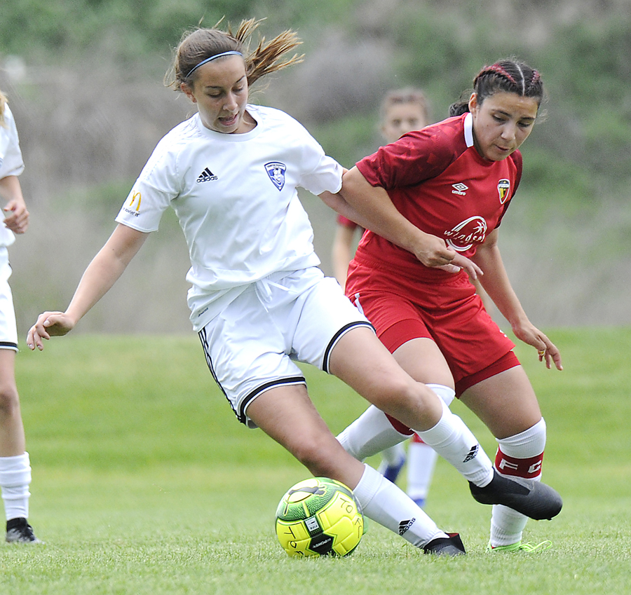 <who>Photo Credit: Lorne White/KelownaNow </who>A graduate of the Thompson Okanagan FC U15 team, Shae Taylor will join Kraetzer on the REX U16s.