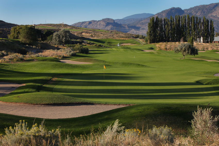 <who>Photo Credit: Contributed </who>Osoyoos Golf Club course — site of the 2018 B.C. School Sports senior A championship.