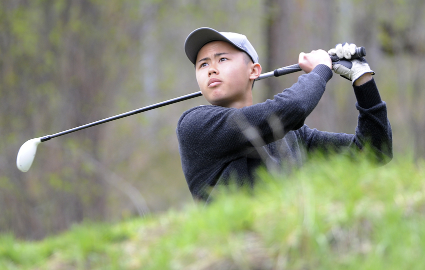 <who>Photo Credit: Lorne White/KelownaNow </who>Brandon Chai of Aberdeen finished second in the individual competition with a 36-hold total of 146.