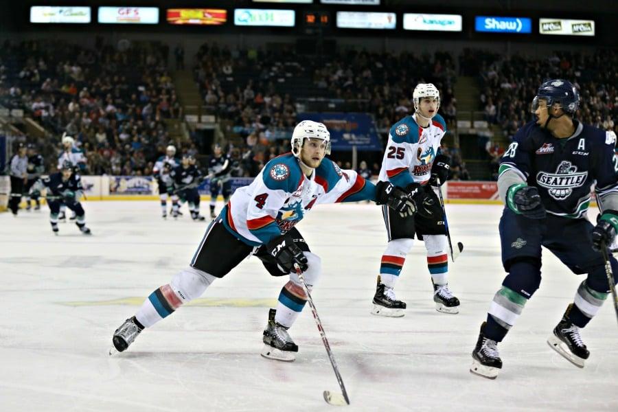 WHL Roundup: Kolesar scores 2 as Thunderbirds take 2-1 series lead