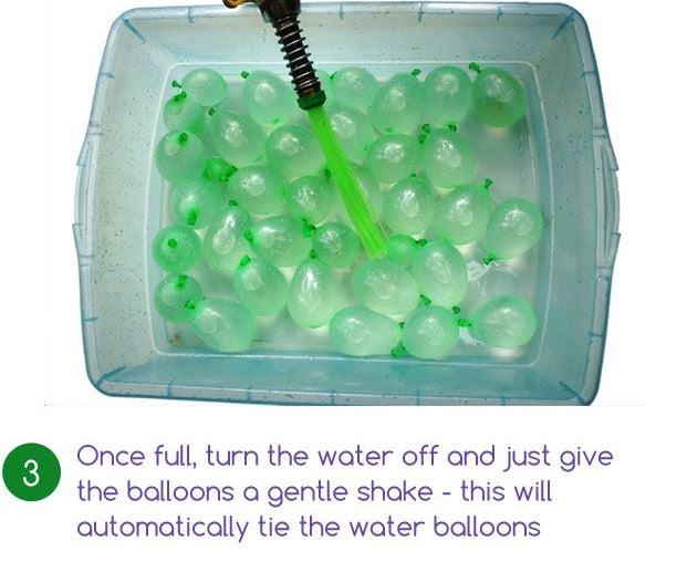 water balloon machine