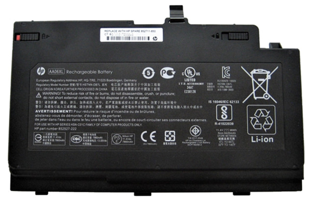 HP issues voluntary recall involving lithium-ion battery packs