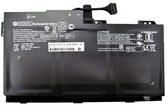 Overheating, melting, charring laptop batteries cause HP to recall 50000 battery packs