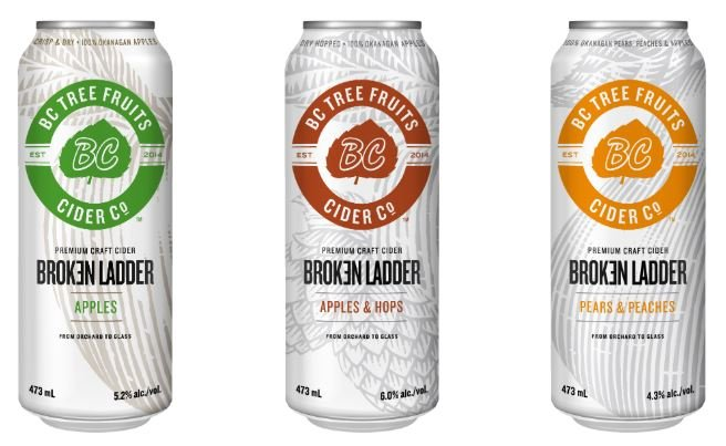 BC Tree Fruits Cider Co. introduces newest addition to Broken Ladder family