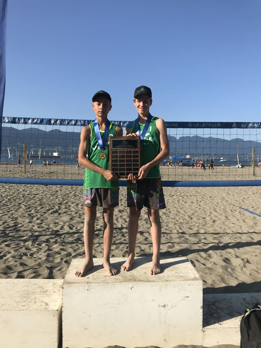 Newly Formed Beach Volleyball Club Finds the Podium at Youth Beach Provincial Championships