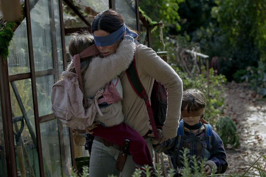 Sandra Bullock played sightless mum in Bird Box for her kids
