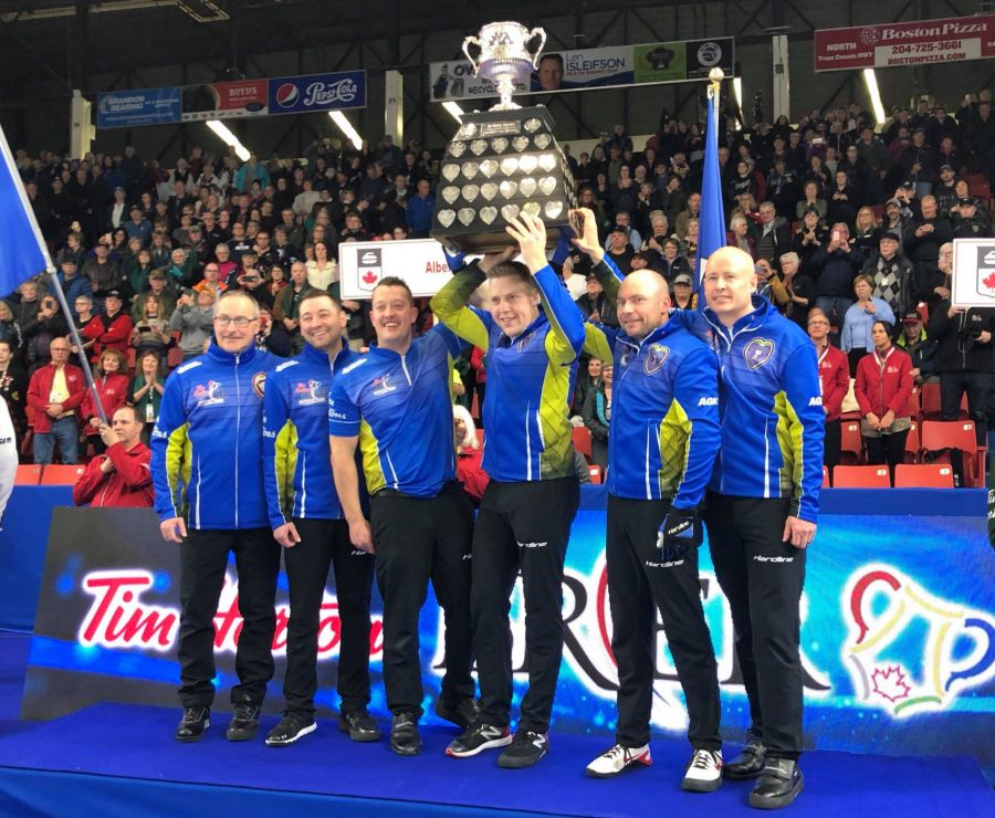 Kelowna will host the 2021 Tim Hortons Brier