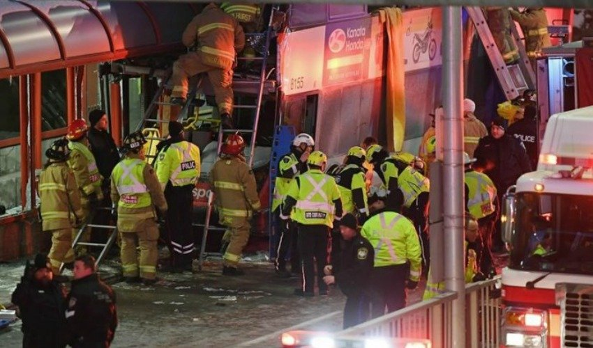 Canada: Deadly double-decker bus crash in capital Ottawa