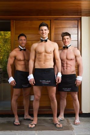 Naked Butlers In The Buff   Buff Body Butlers
