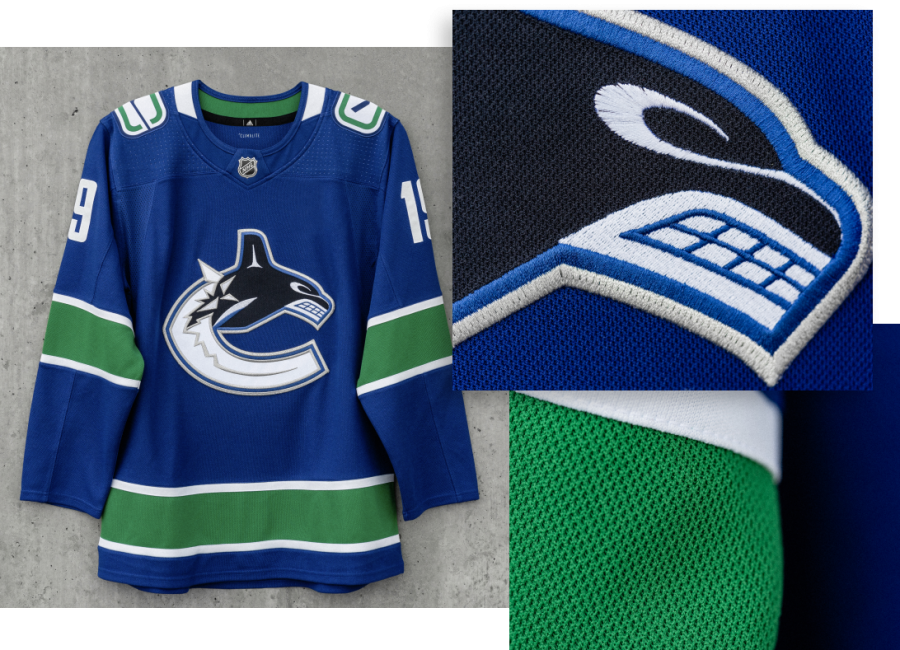 huge selection of 93410 a5f56 Canucks officially unveil new jerseys