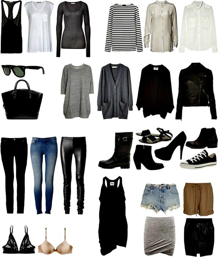 what does a capsule wardrobe consist of 2
