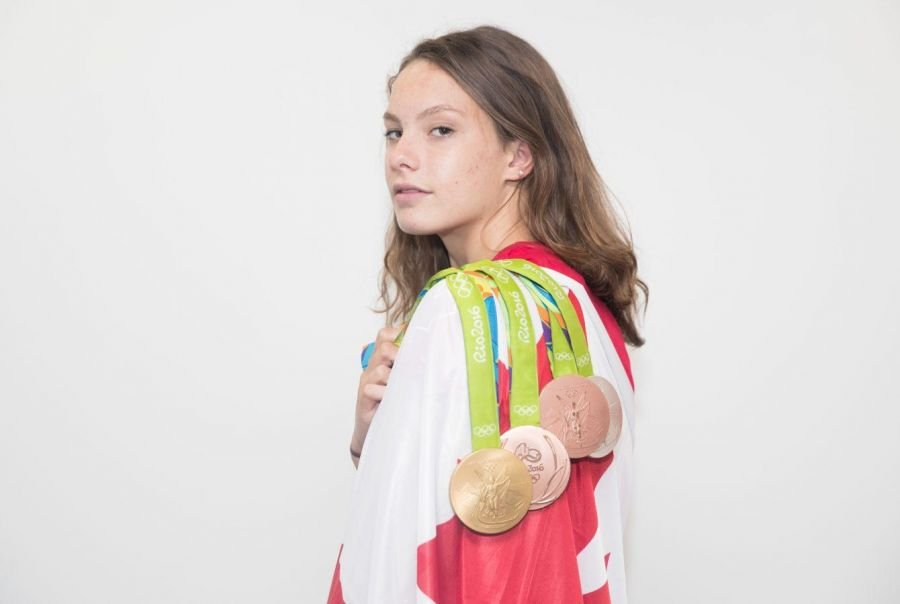 Penny Oleksiak Named Flag-Bearer for Rio Closing Ceremony