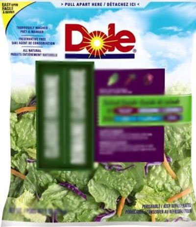 Dole Salad Related Listeria Outbreak Leaves 12 Hospitalized and One Dead