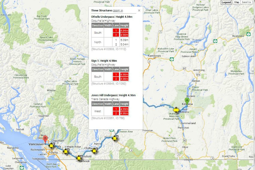 BC Government Gives Truckers Route Planning Tool