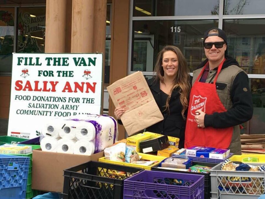 The Salvation Army's annual Fill-the-Van-for-Sally-Ann Food Drive is back this weekend