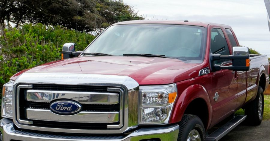 Ford trucks most frequently stolen vehicles in Canada