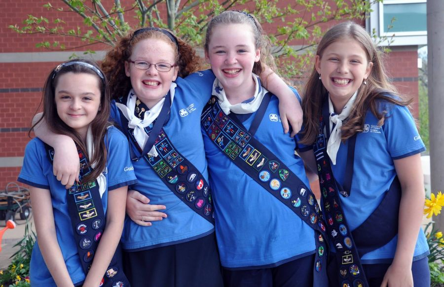 girl guides Girl guides is a club for girls aged 10 - 14 years, and is a part of the scouting movementgirl guides comes after brownies and before rangers what is girl guides girl guides was founded in 1910 as the female counterpart to the scouts.
