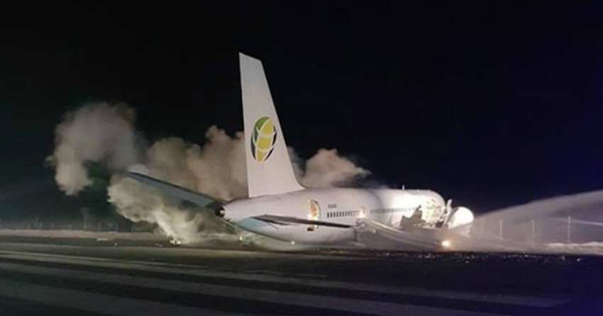 Fly Jamaica probes passenger's death following crash-landing