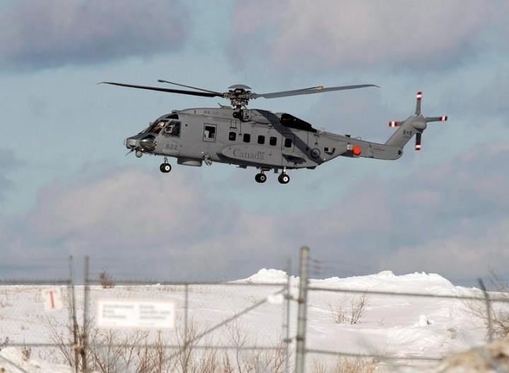 Five crew of Canadian helicopter presumed dead after crash off Greek coast