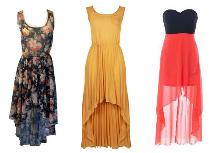 Maxi dresses for different body types