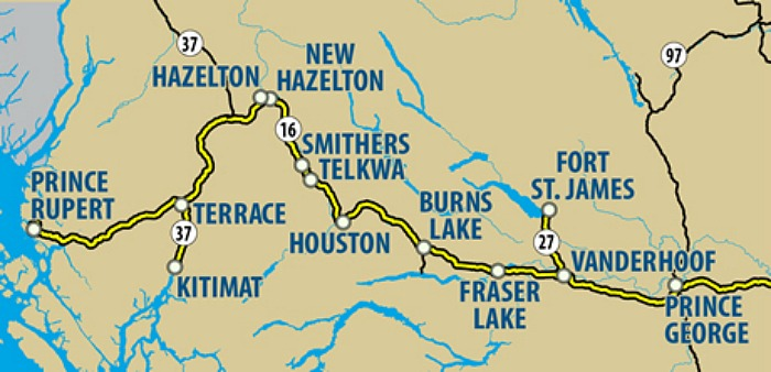 More Transit Service Coming To The Highway Of Tears - Highway of tears canada map