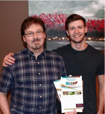 <who>Photo Credit: Contributed</who>Don Graston and his son Aaron Graston