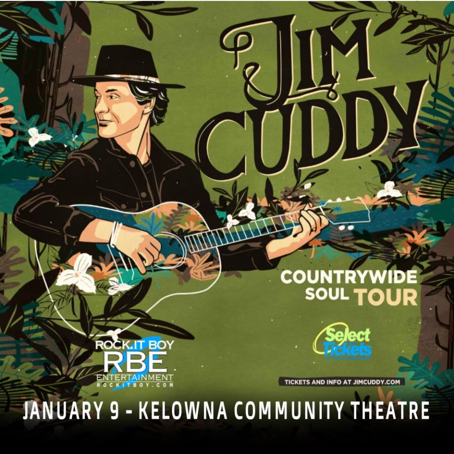 Jim Cuddy Of Blue Rodeo Coming To The Okanagan In Early 2020