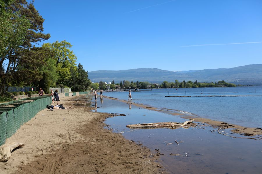 Photo credit: KelownaNow - Beach at Mill Creek