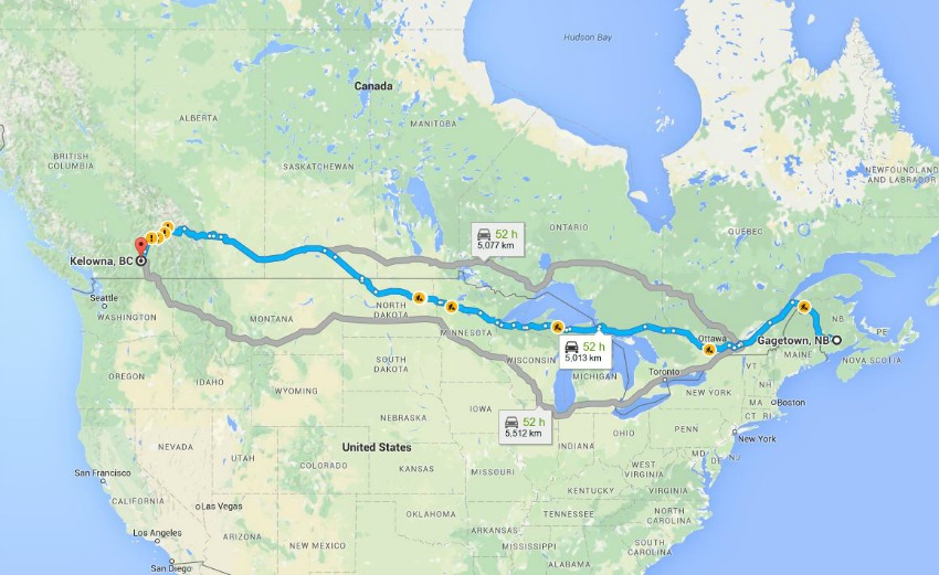 Map Of Canada Showing Kelowna.From Refugee To Canadian Citizen Life In Kelowna