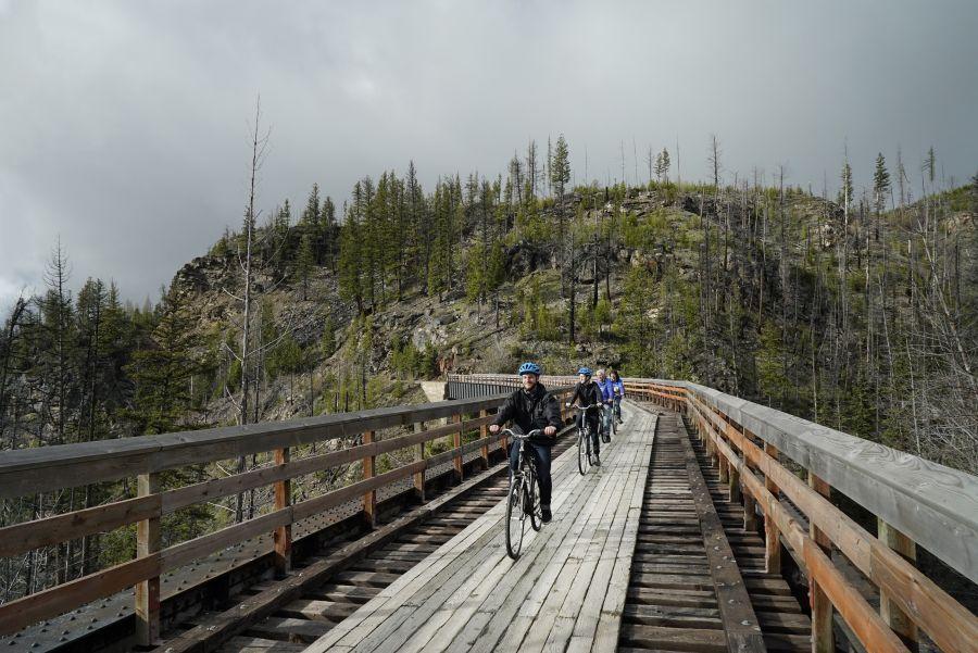 <who>Photo Credit: Contributed</who>Myra Canyon Bike Rental