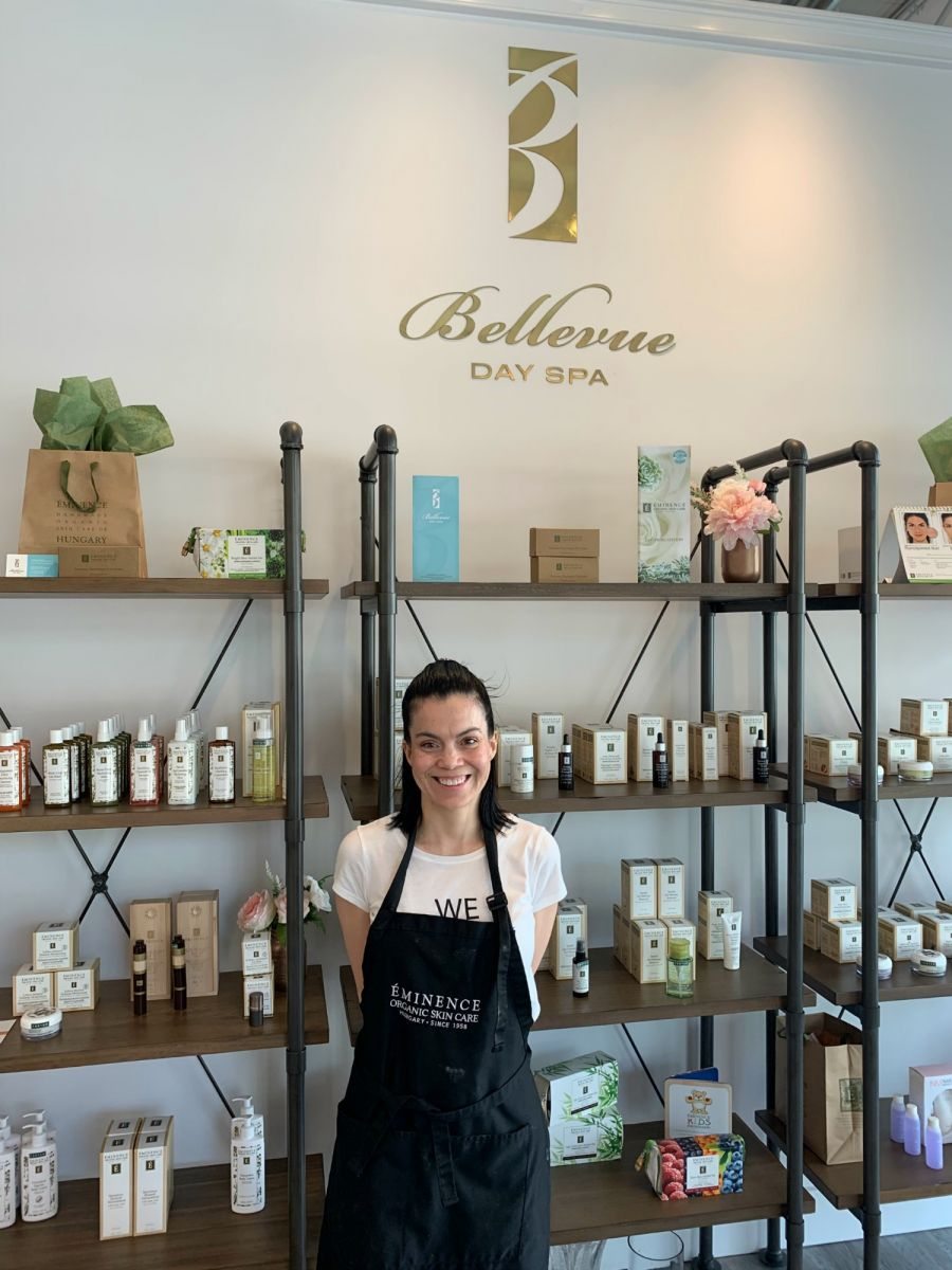 <who>Photo Credit: Contributed</who>Bellevue Day Spa owner Cinthia Michelle