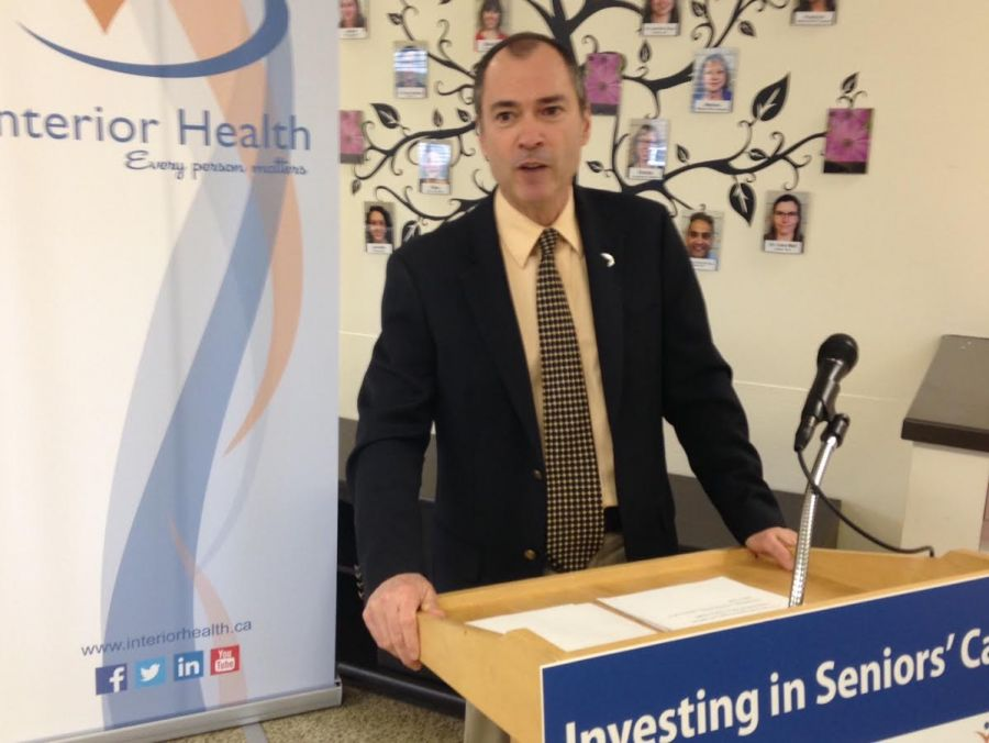 <who> Contributed </who> Norm Letnick announcing the opening of the Seniors Health and Wellness Centre