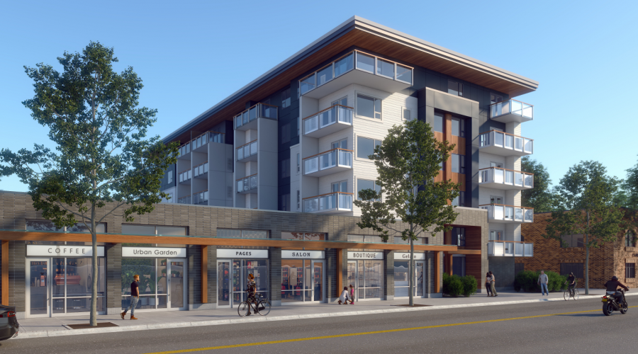 6-storey designated rental development proposed for Pandosy Village