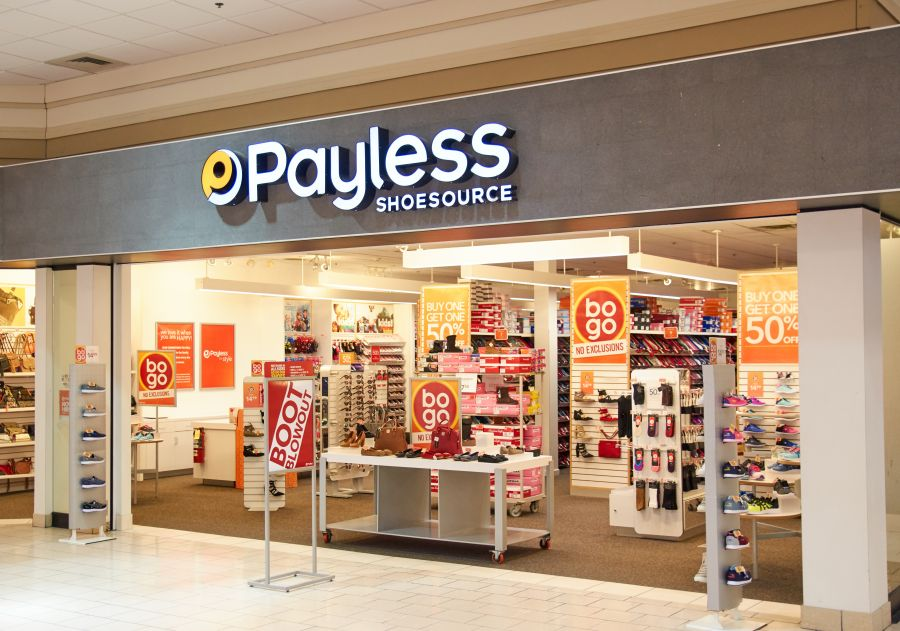 Liquidation sales at Payless ShoeSource